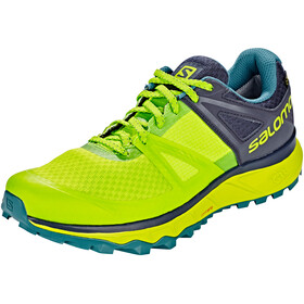 Salomon Trailster GTX Running Shoes Men yellow/grey